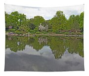 View Of Japanese Garden, Wroclaw, Poland Tapestry
