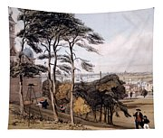 View Of London From Greenwich Park, 1842 Tapestry