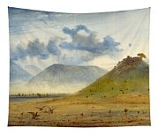 View Of Marathon Tapestry