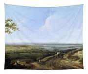 View Of Portsmouth From Portsdown Hill Tapestry