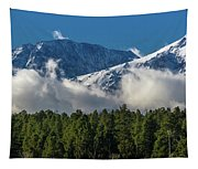 View Of San Juan Mountains With Clouds Tapestry