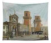 View Of The Arsenale. Venice Tapestry