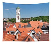 View Of The Old Town With St. Martins Tapestry