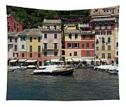 View Of The Portofino, Liguria, Italy Tapestry