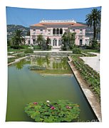 Villa Ephrussi De Rothschild With Reflection Tapestry