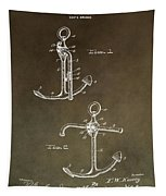 Vintage 1902 Anchor Patent Tapestry