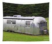 Vintage Airstream Trailer Tapestry
