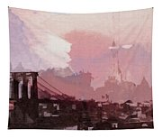 Vintage America Brooklyn 1930 Tapestry