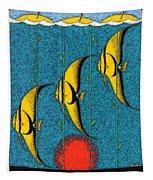 Vintage Australia Travel Poster Tapestry