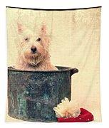 Vintage Bathtime Tapestry