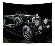 Vintage Bentley 4.5 Liter Le Mans Tapestry
