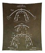 Vintage Braces Patent Tapestry