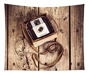 Vintage Camera Tapestry