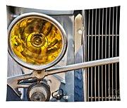 Vintage Car Light Tapestry