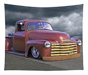 Vintage Chevy 1949 Tapestry