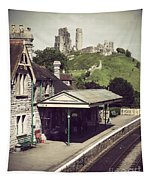 Vintage Corfe Castle Tapestry