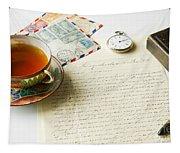 Vintage Correspondence Tapestry