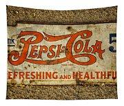 Vintage Drink Pepsi Cola 5 Cents Dsc07157 Tapestry