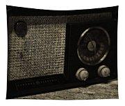 Vintage Ge Radio Tapestry