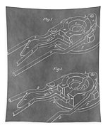 Vintage Glass Mold Patent Tapestry