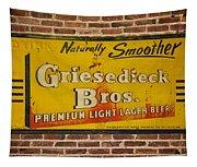 Vintage Griesedieck Bros Beer Dsc07192 Tapestry