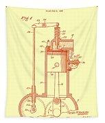 Vintage Internal Combustion Engine Patent 1940 Tapestry