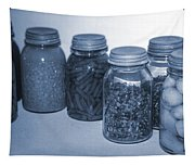 Vintage Kitchen Glass Jar Canning Tapestry