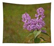 Vintage Lilac Bush Tapestry