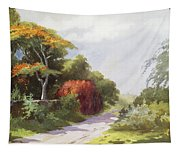 Vintage Manoa Valley Tapestry