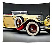 Vintage Mercedes Convertible Tapestry