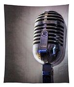 Vintage Microphone 2 Tapestry