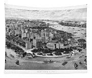 Vintage New York 1903 Tapestry