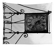 Vintage Paris Clock 2 Tapestry