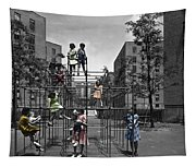 Vintage Playground Tapestry