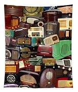 Vintage Radios Tapestry