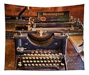 Vintage Remington Typewriter  Tapestry