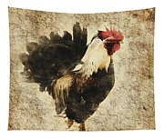 Vintage Rooster Tapestry