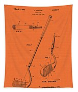 Vintage Stecher Gold Club Patent - 1960 Tapestry