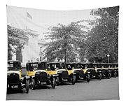 Vintage Taxis 3 Tapestry