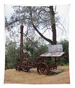 Vintage Well Driller 2 Tapestry