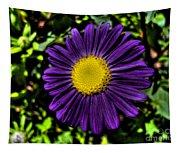 Violet Aster Tapestry