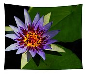 Violet Lily Tapestry