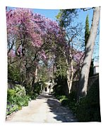 Violet Tree Alley Tapestry
