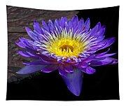 Violet Waterlily Tapestry