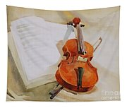 Violin Tapestry