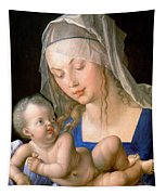 Virgin And Child Holding A Half-eaten Pear, 1512 Tapestry