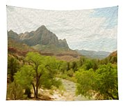 Virgin River Through Zion National Park 2 Tapestry