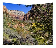 Virgin River View - Zion Tapestry