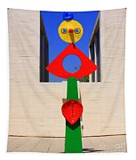 Visions Of Miro Tapestry