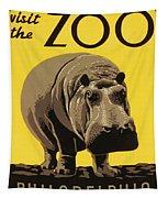 Visit The Philadelphia Zoo Tapestry